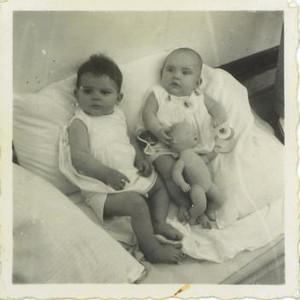 1950- Janeca Mendonça e Mena Arruda