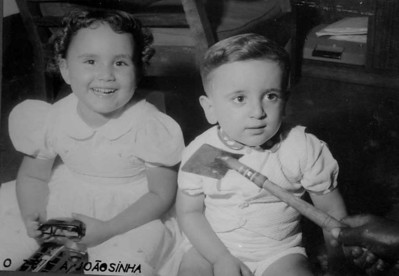 """1954- Janeca Mendonca e Zé Luis """"Vasco Sa'"""""""