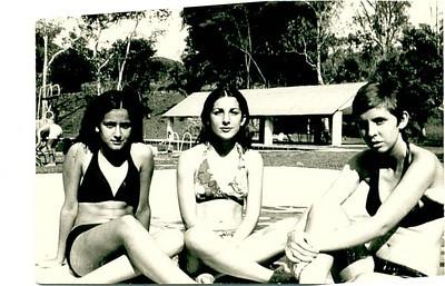 1972 Isabella Mendonca, Zelinha Adalberto e Guida Tavares