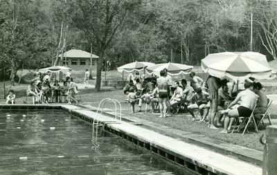 Campeonato de natação da Diamang, que teve lugar na Piscina do Dundo, em Agosto de 1968