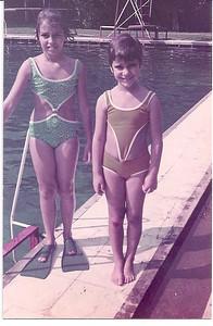 Piscina do Mussungue - Ju Prudente e Zezinha Gameiro  1971