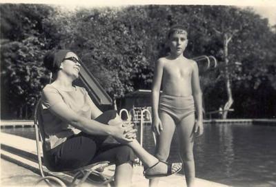 Helder Simoes e mae