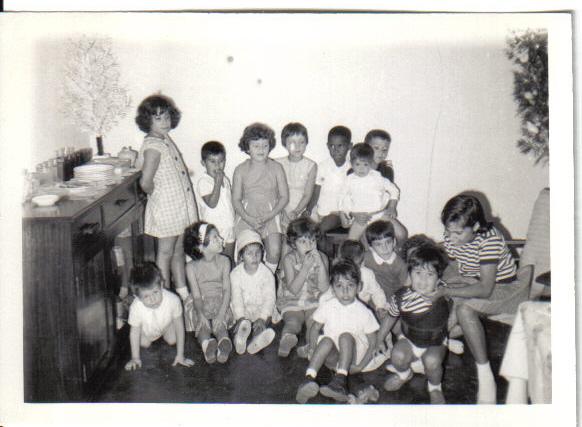 Dezembro 1966 Festa dos 7 anos da Yolanda Medina