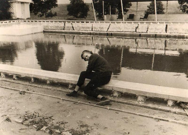 Calonda 62-63 Vanda Rosendo na piscina