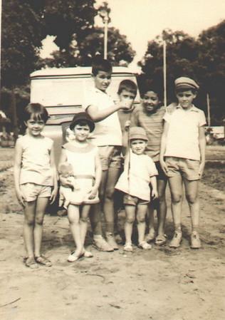 Cassanguidi, 1968 Palmira Figueiredo, Carlos Piedade, Chico Figueiredo, Alvaro Figueiredo, Fernando Piedade