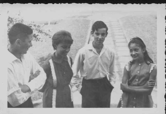 Mario Freitas, Isabel Medeiros, Carlos Pinto e Deborah Morgado