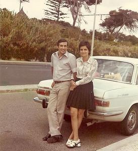 Nanda Ferreira da Silva e Raul ( futuro marido)
