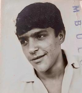 Zé Gaspar   com 12 anos