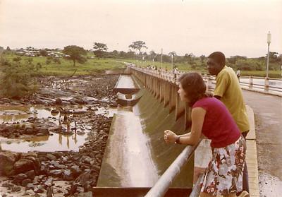 1970- Limpeza da Barragem