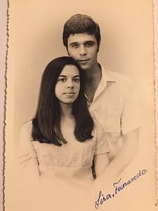 Lisa Teixeira e Fernando Machado