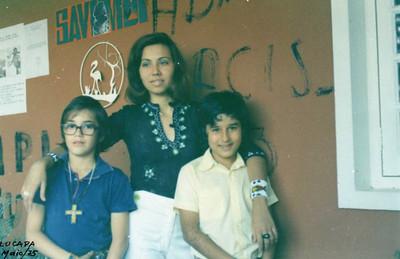 Lucapa, Maio 1975 Rui Gustavo da Fonseca, Misita Melo Abreu e José Manuel Salvado