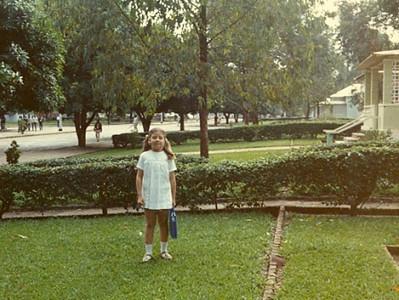 Laura António -filha de Azevedo António - 7 anos - Lucapa - Nov 72