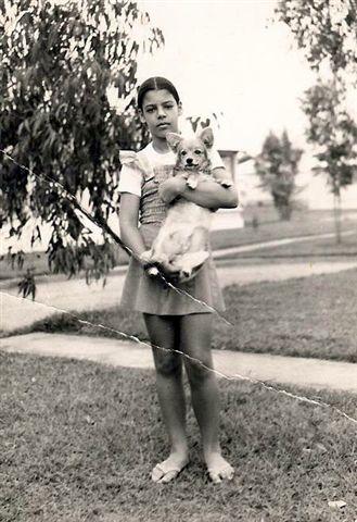 Nany Pereira com 11 anos