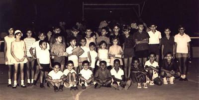 Natal 67: participantes na gincana