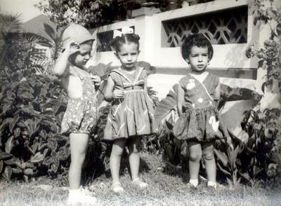 Outubro, Andrada 1958,  Ana Garrido, centro