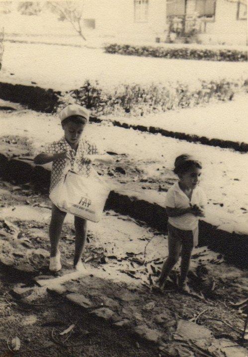 1965-Andrada -  ÁlvaroFigueiredo e Rui Martinho -  a caminho da Piscina