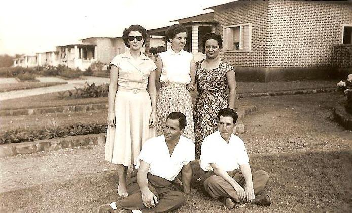Ilda, eng. Roque, casal Julio da Conceicao