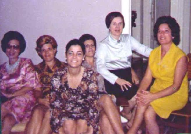 Esposa de Alberto Alberto, esposa do Chagas, Teresa Fontinhas, Milena Larangeira, Lurdes Ramos, Lurdes Pereira