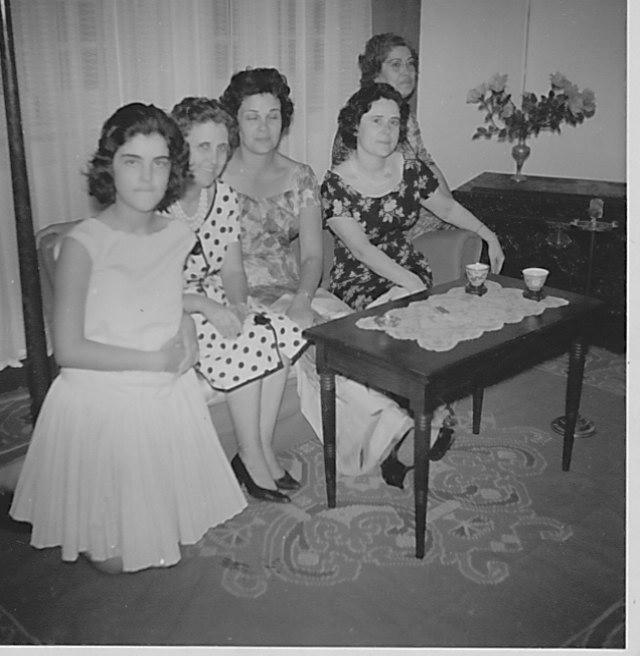 Teresa Fontinhas, Aurora Tavares, Taciana Fontinhas,Lurdes Ramos e Augusta Runa