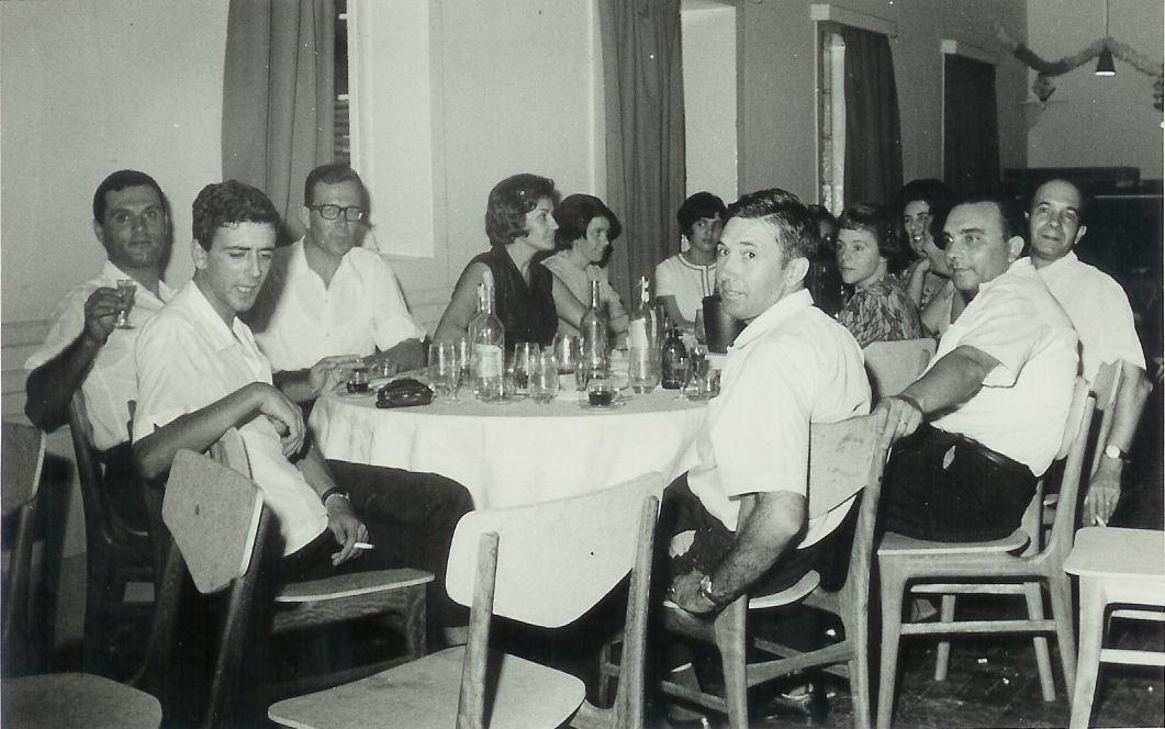 Cassanguidi 66-67 Casal Fontes e filha, Casal Clemente, casal Campos Ferreira, Jorge Luis dos Santos Nunes