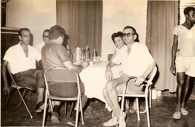 Cassanguidi; Piedade e ( à direita) Fernando Cardoso Ribeiro e esposa Maria Ribeiro