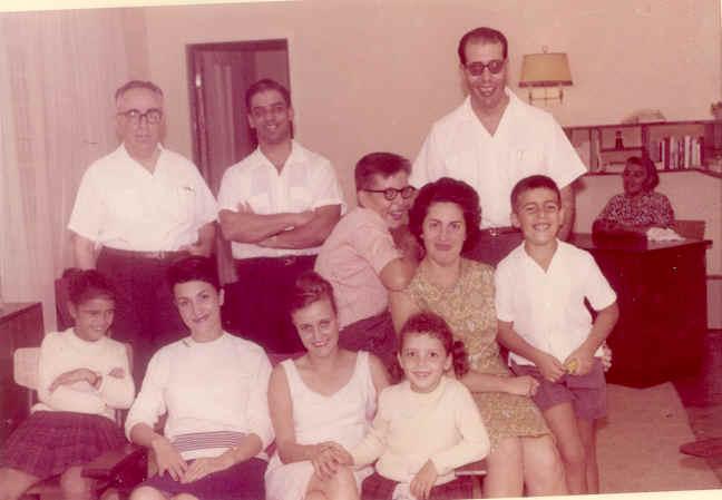 Dr. Jorge Monteiro e familia e Dr. Joào Novo e família