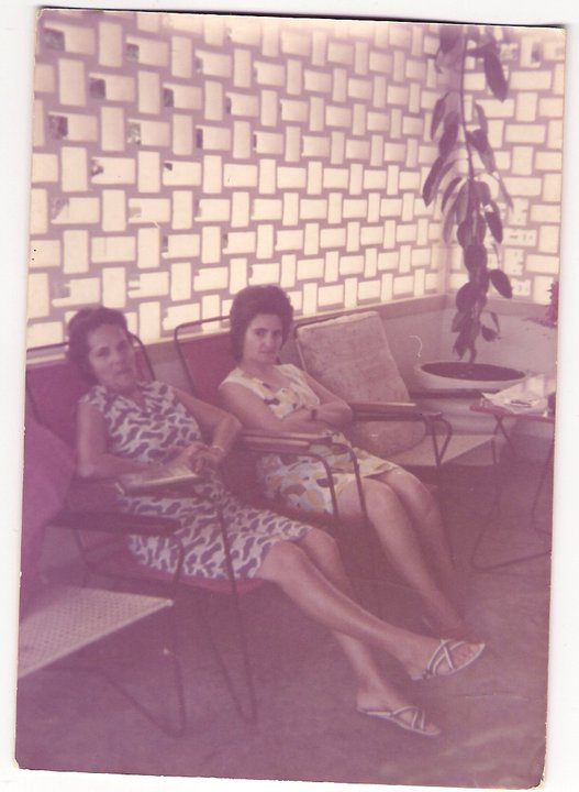 Herminia Pereira Santos e  Manuela Caetano