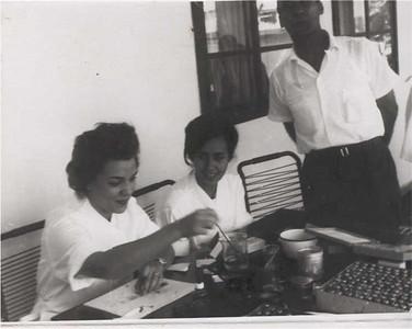 1964 Maria Joao Santos David, Zizi e Valente