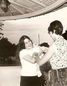 Milu Videira e esposa do Elias Ferreira