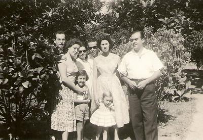 Natal de 1958 no Dundo Familia Rogerio Mendes e ?