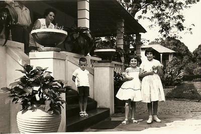 Milu Videira e familia Antonio Rocha