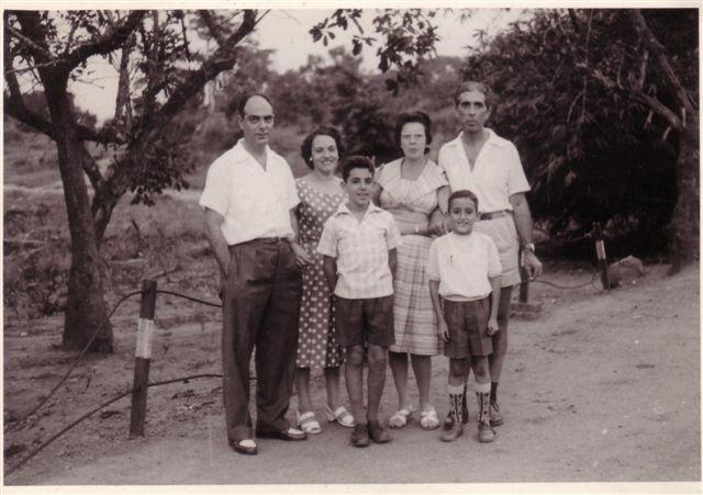 Familia Melim e familia Cortez
