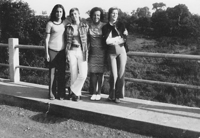 1972, Dundo Isabella Mendonca, Guida Tavares, sra do Mendonca, Nany Tavares