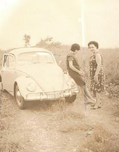 Milena Laranjeira e Celia Julio da Conceicao