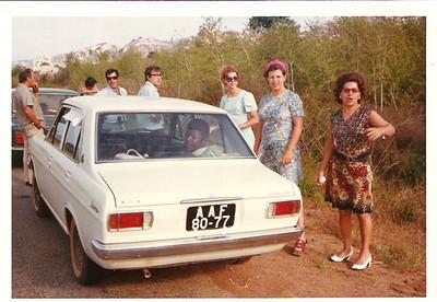 Familia Josefa pelas estradas da Diamang