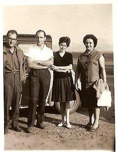 Julio da Conceicao, eng. Roque, Lili Bexiga e Celia da Conceicao