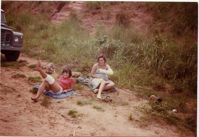 "1980 - ""Mulher sofre"" Teresa ""Capela"" e Betty Maldonado"