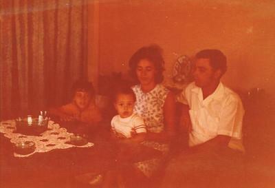 Cafunfo, 1973 Familia de Antonio Nascimento
