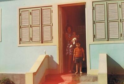 Cafunfo,  Esposa e filhos de Antonio Nascimento