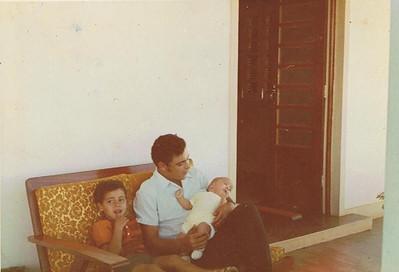 Cafunfo,  Antonio Nascimento e filhos