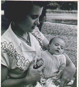 Fernanda Morgado com a Sónia