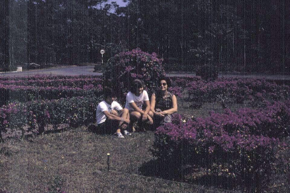 Familia Gameiro no Obelisco
