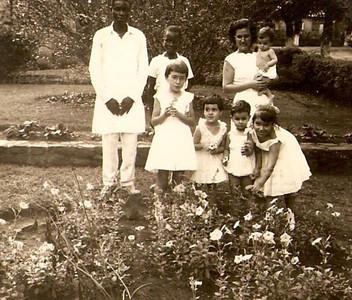 Fernanda Piedade, filhos e amigos