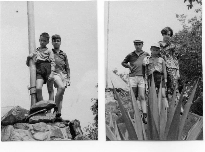Manos Valentes, no Cossa, 1967  Zizi, Victor e Luis
