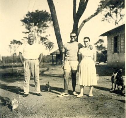1ªs Habitações no Lucapa, fevereiro 1960