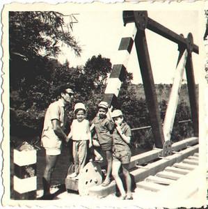 Fernando Figueiredo e filhos
