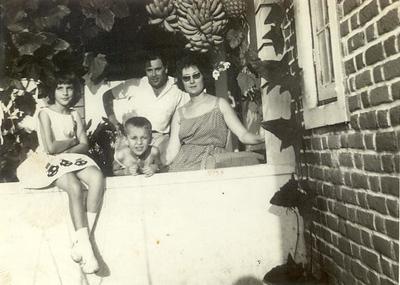 Adalberto, Teresa, Zelinha e Beka