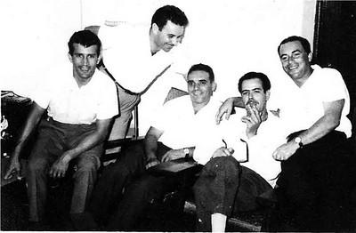 ?, Mendonça, Freitas, Pinto das Gaiolas e Adalberto