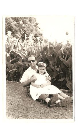 Manuel Augusto e filha Elz