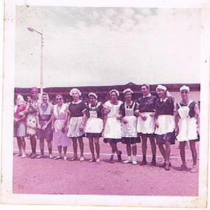 Andrada 1967 nos campos de jogos em frente as Oficinas